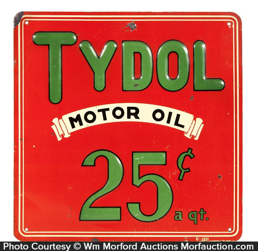 Tydol Motor Oil Sign