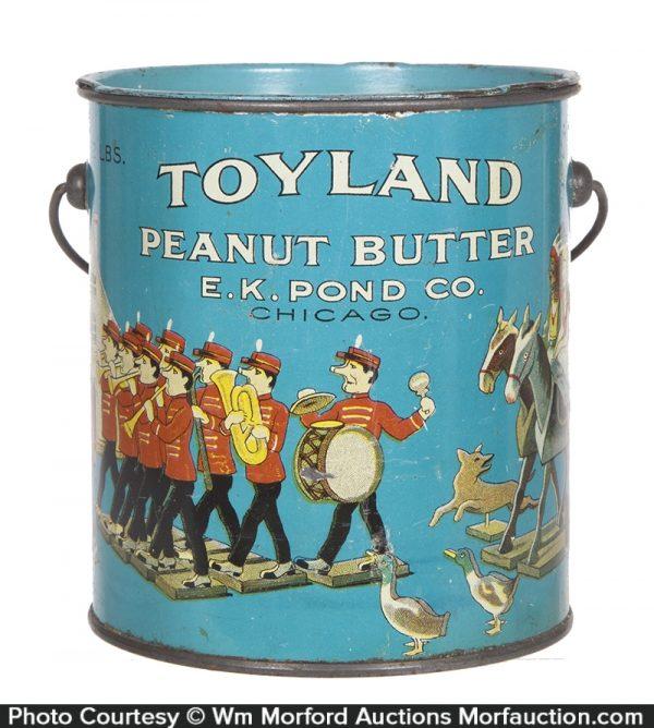 2 Lb. Toyland Peanut Butter Pail
