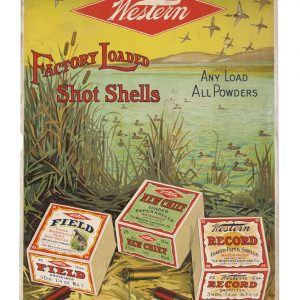 Western Shot Shells Ammo Sign