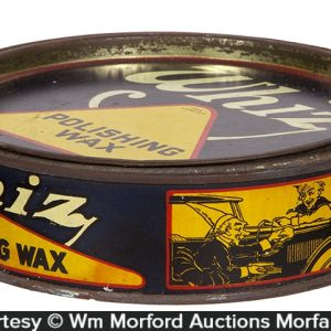 Whiz Polishing Wax Tin