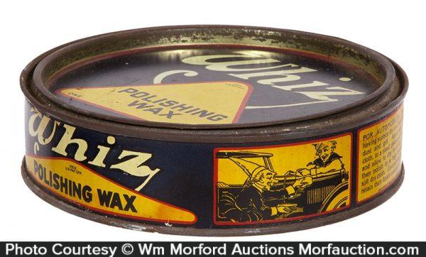 Whiz Polishing Wax Tin