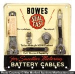 Bowes Seal Fast Battery Cables Display