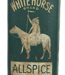 White Horse Spice Tin