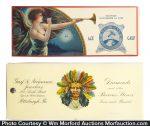 Vintage Celluloid Advertising Blotters
