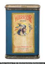 Warrior Spice Tin