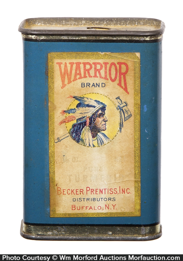 Warrior Spice Tin