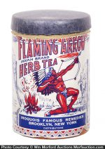 Flaming Arrow Medicine Box