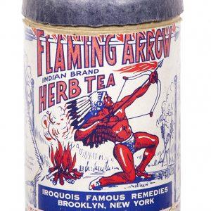Flaming Arrow Medicine Box