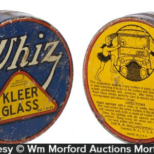 Whiz Kleer-Glass Tin
