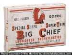 Big Chief Condoms Box