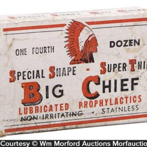Big Chief Condoms Box