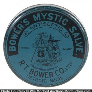 Bowers Mystic Salve Witch Tin