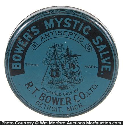 Bowers Mystic Salve Witch Tin