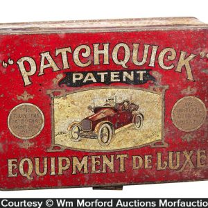 Patchquick Tire Patch Tin