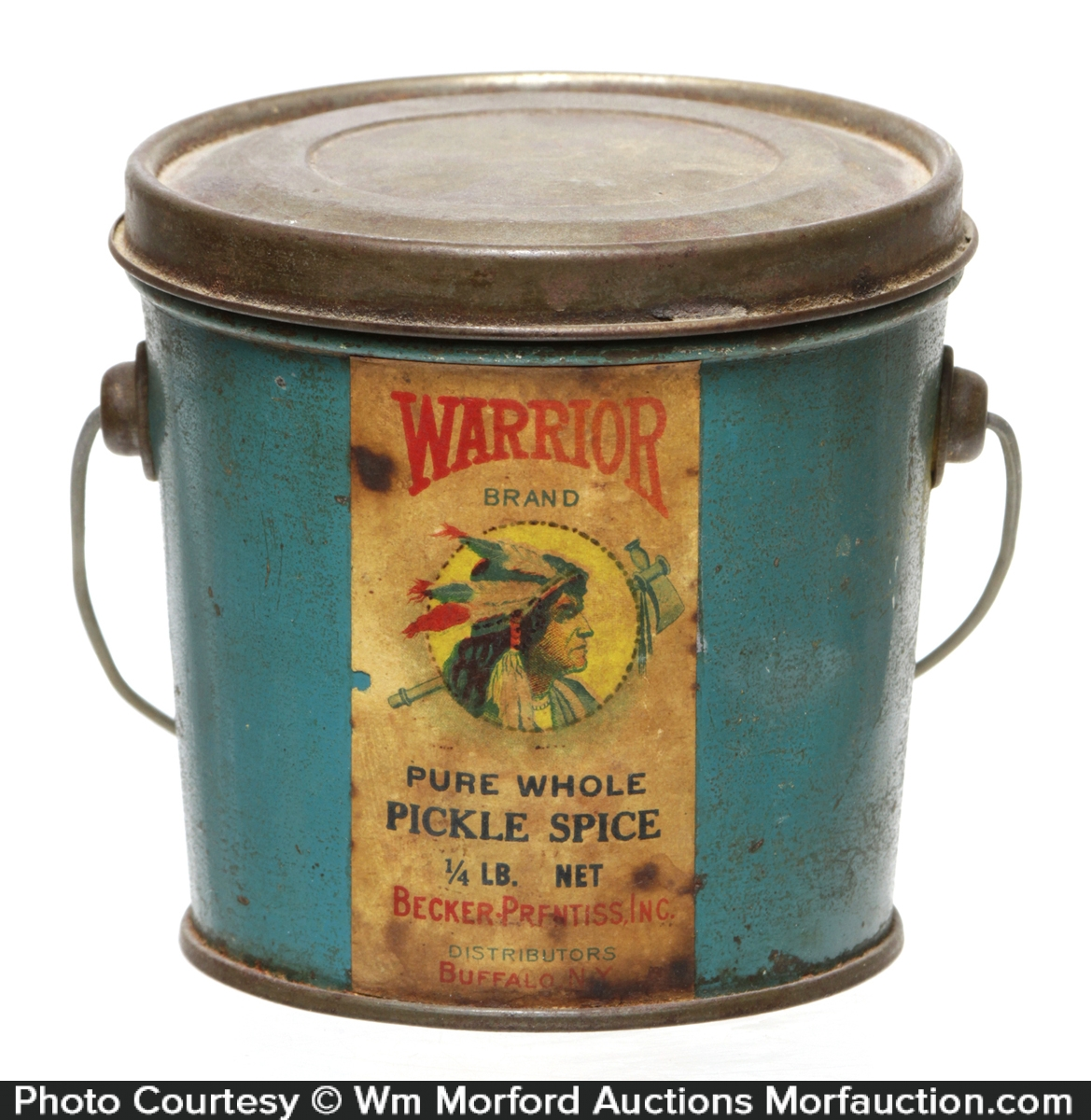 Warrior Pickle Spices Tin
