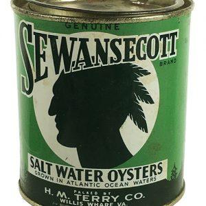 Sewansecott Oysters Tin