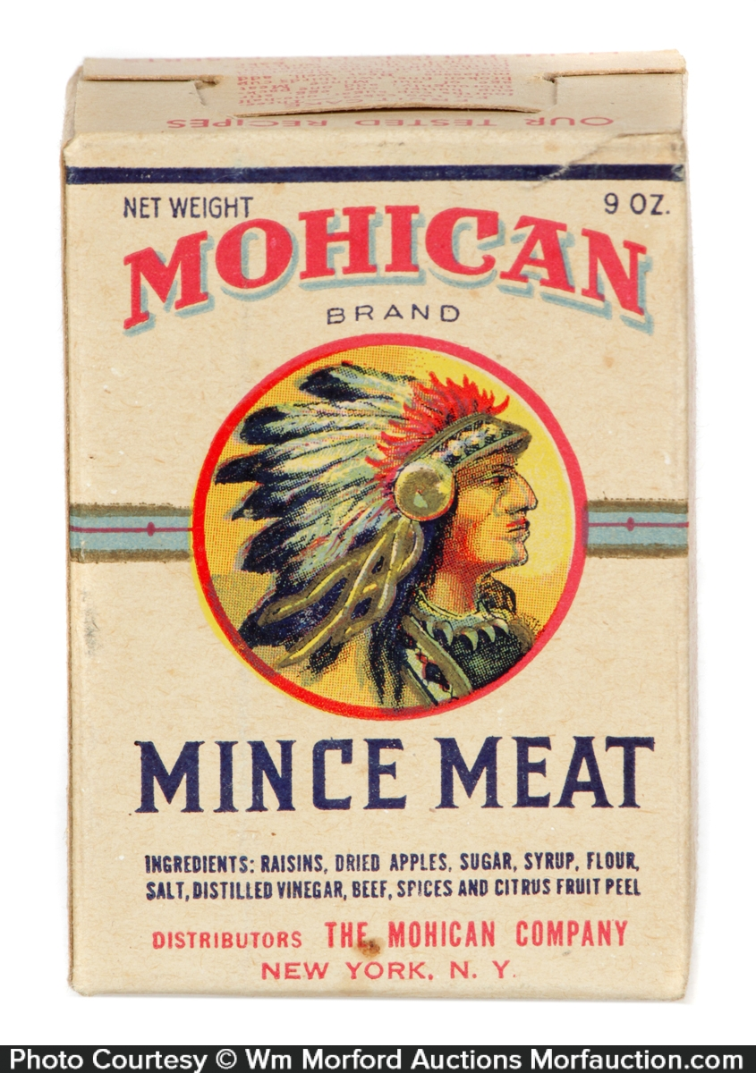 Mohican Mince Meat Box