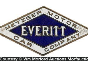 Metzger Motor Car Co. Lapel Pin