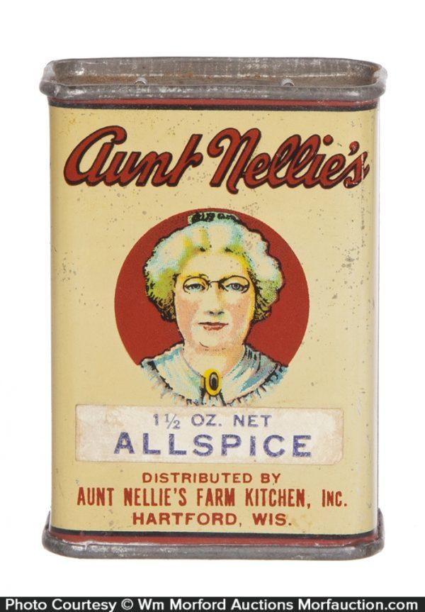 Aunt Nellie's Spice Tin