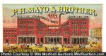 Mayo Tobacco Crate Label
