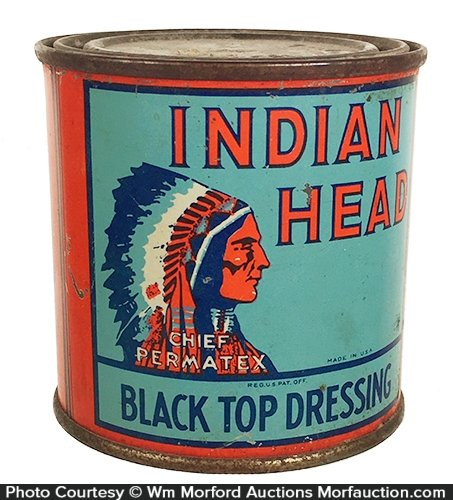 Indian Head Auto Top Dressing Tin