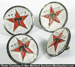 Texaco Uniform Buttons