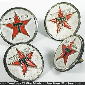 Texaco Uniform Buttons