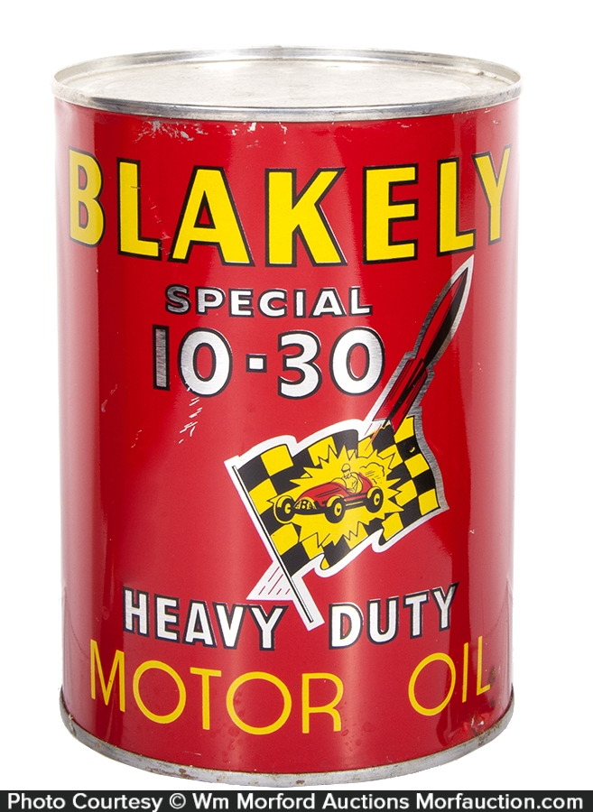Blakely Motor Oil Can