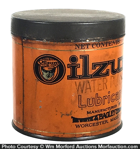 Oilzum Grease Lubricant Can