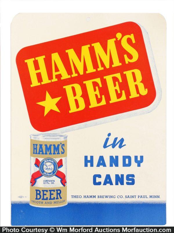 Hamm's Beer Sign