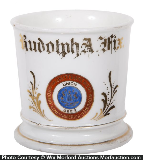 Brewery Workers Union Member Shaving Mug