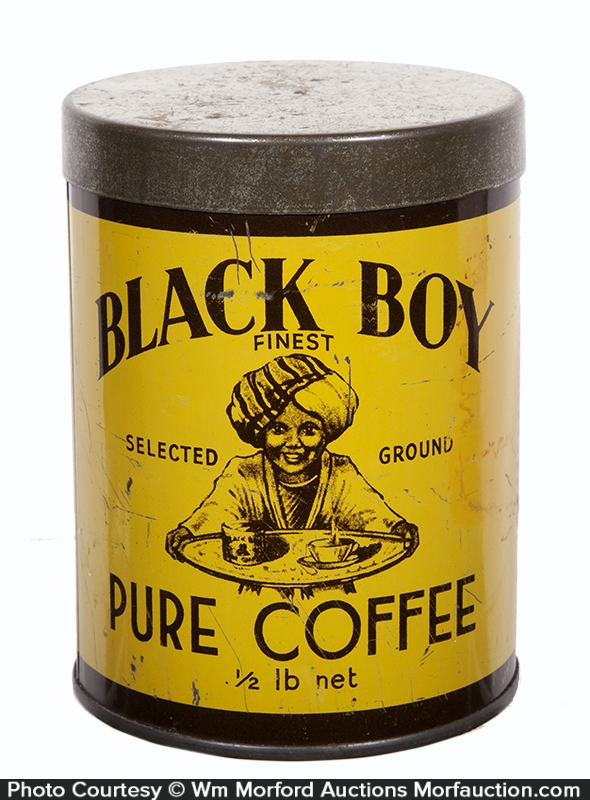 Black Boy Coffee Can