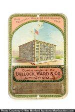 Bullock Ward Match Holder
