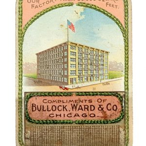Bullock Ward Match Holder