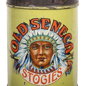 Old Seneca Stogies Cigars Tin