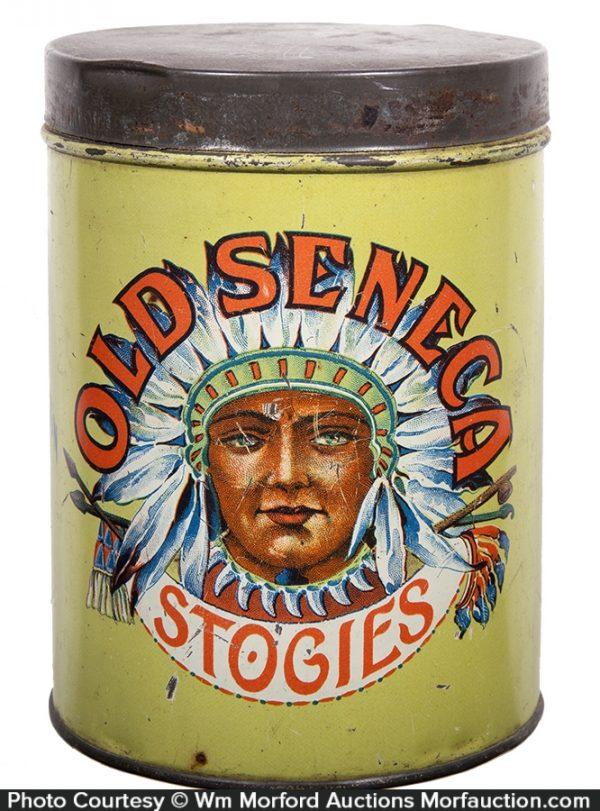 Old Seneca Stogies Cigars Tin