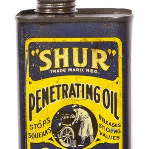 Shur Penatrating Oil Tin
