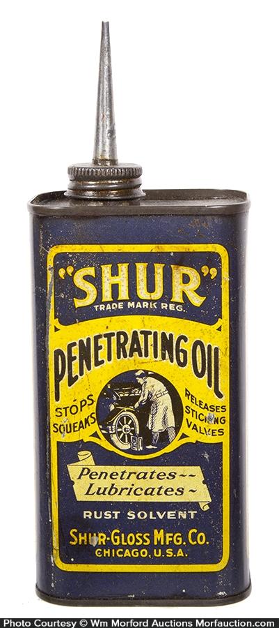 Shur Penatrating Oil Tin