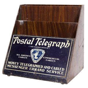 Postal Telegraph Blanks Holder