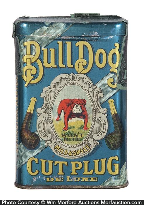 Bull Dog Pocket Tobacco Tin