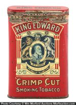 King Edward Pocket Tobacco Tin