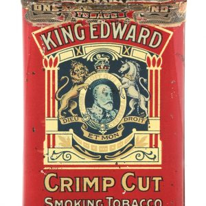 King Edward Pocket Tobacco Tin