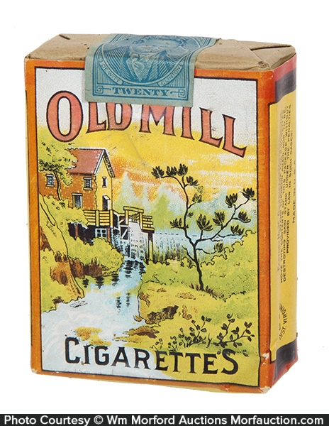 Old Mill Cigarette Pack