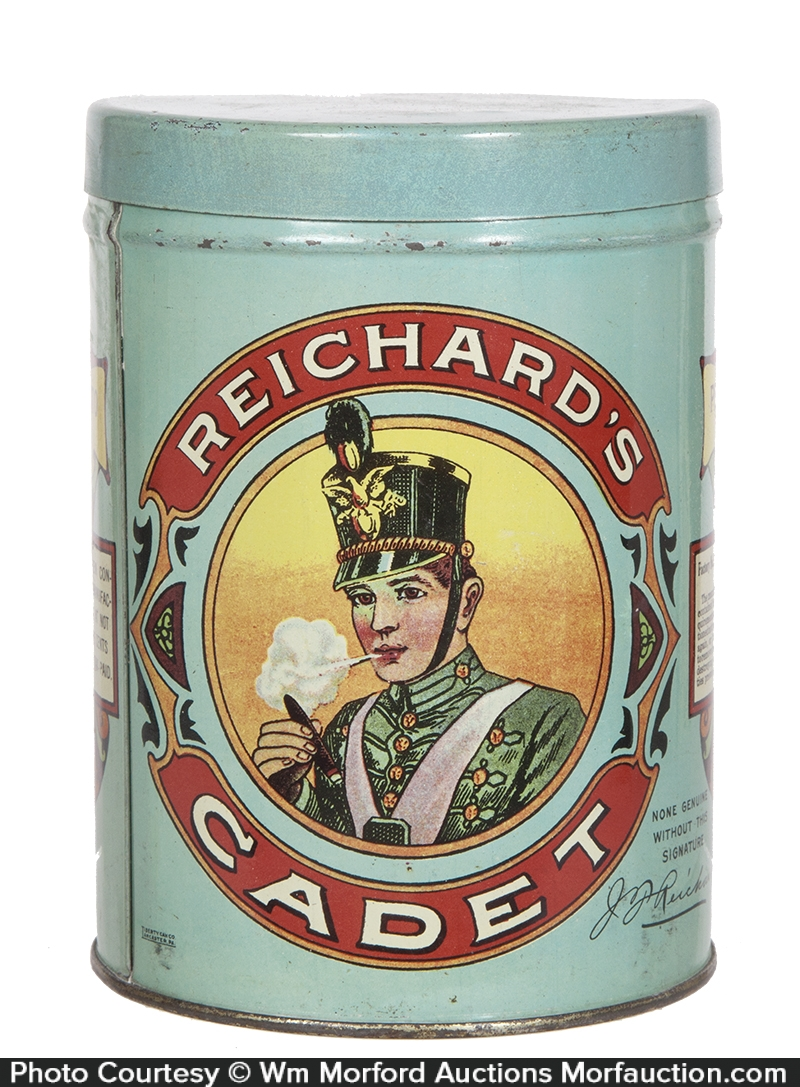 Reichard's Cadet Cigar Tin