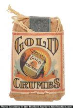 Gold Crumbs Tobacco String Bag