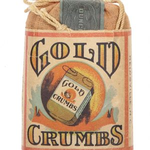 Gold Crumbs Tobacco String Bag