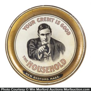 Household Credit Tip Tray