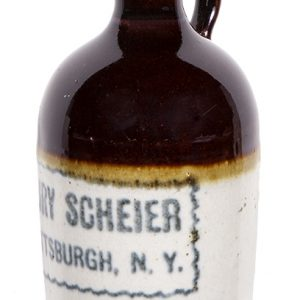 Scheier Whiskey Advertising Jug