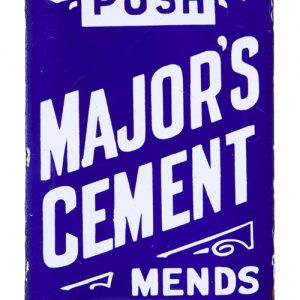 Majors Cement Porcelain Door Push