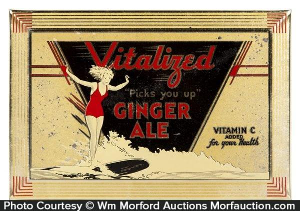Vitalized Ginger Ale Sign